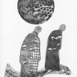 Monachus - collagraphie 4 plaques VENDU